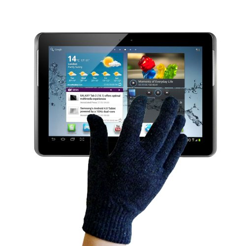 DURAGADGET Large Touchscreen Capacitive Gloves For Samsung Galaxy Tab 10.1 (GT-P7500 & GT-P7510), Tab 7.7 (GT-P6810 & GT-P6800) And Tab 2 10.1 (GT-P5100, P5110 & P5113)