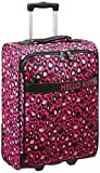Hello Kitty Leopard Rolling Suitcase, Multi, One Size