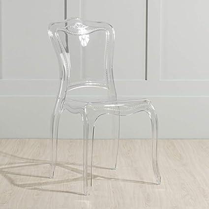 Sedie Plastica Trasparente Design.Xingping Semplice Sedia Da Giardino Moderna Sedia Da Balcone