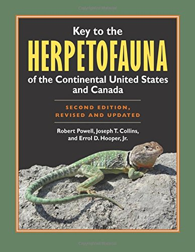 Key to the Herpetofauna of the Continental United States and Canada: Second Edition, Revised and Updated