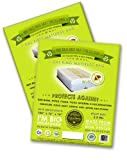 2 Cal King or King Mattresses Protective Covers. Compatible with ALL Pillow Top and Box Springs. Ideal for Instant Bed Bug Protection, Packing, Moving, Storage and Transport. Professional Grade 2.2 Mil Thick, Heavy Duty Recycled Plastic. Non-vented. Eco-friendly and Proudly Made in America and the Highest Quality Mattress Bad Sold on Amazon!