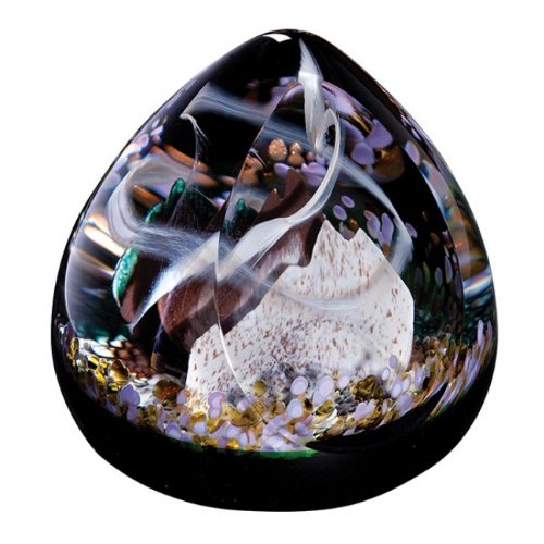 Caithness Glass Scottish Roaming in The Gloaming Paperweight