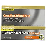 GoodSense Clotrimazole Foot Cream, 0.5 Ounce