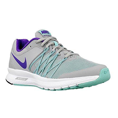 New Nike Women's Air Relentless 6 Running Shoe Grey/Turqu...