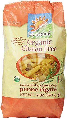 - Bionaturae Organic Pasta, Penne Rigate, Gluten Free, 12 Oz