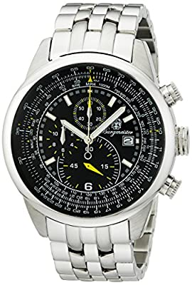 Burgmeister BM505-121 Melbourne, Gents watch, Analogue display, Quartz with Citizen Movement - Water resistant, Stylish stainless steel bracelet, Classic men's watch