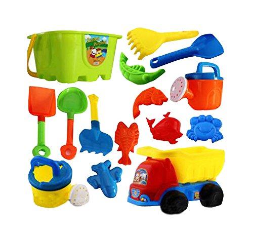 Set de juego divertido para los niños / Niños Playa conjunto de juguete, juguetes de caja de arena, 14 piezas