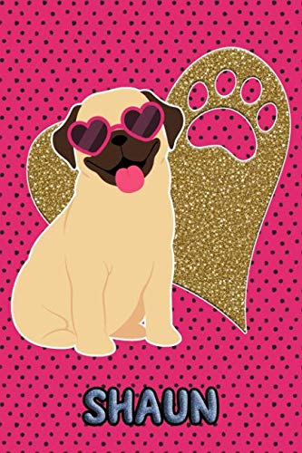 Pug Life Shaun: College Ruled | Composition Book | Diary | Lined Journal ()