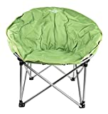 Lucky Bums Youth Moon Camp Chair, Large, Green