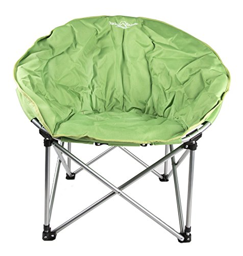 Lucky Bums Moon Camp Chair, Green - Large