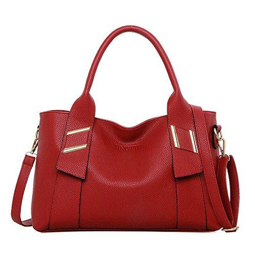 sac léger joli pratique Noël à Rouge et tendance main Cadeau Femme Belle Utile capacité bandoulière sac à pour grand d0qUwA8