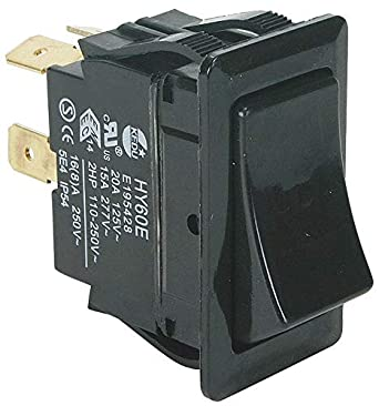 Rocker Switch Dpst 4 Connections