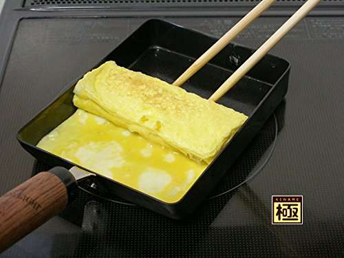 Riverlight Kiwame Iron Omelette Pan (Tamago yaki pan) - Large
