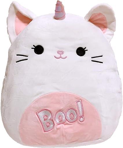 "Kellytoy Squishmallow 2020 Halloween Callista the Boo Caticorn 8/"" Plush Doll"