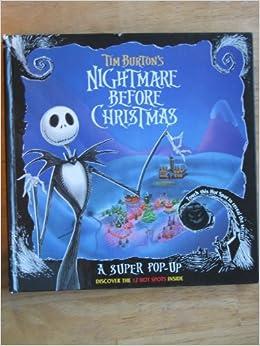 Nightmare before christmas pop up book
