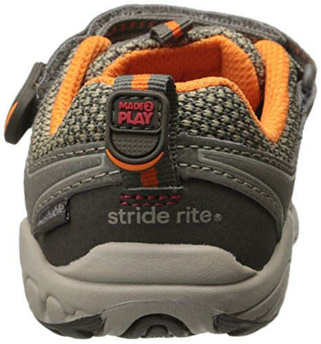 Stride Rite Made 2 Play Baby Ian Sneaker (Toddler),Taupe,4.5 XW US Toddler by Stride Rite (Image #2)