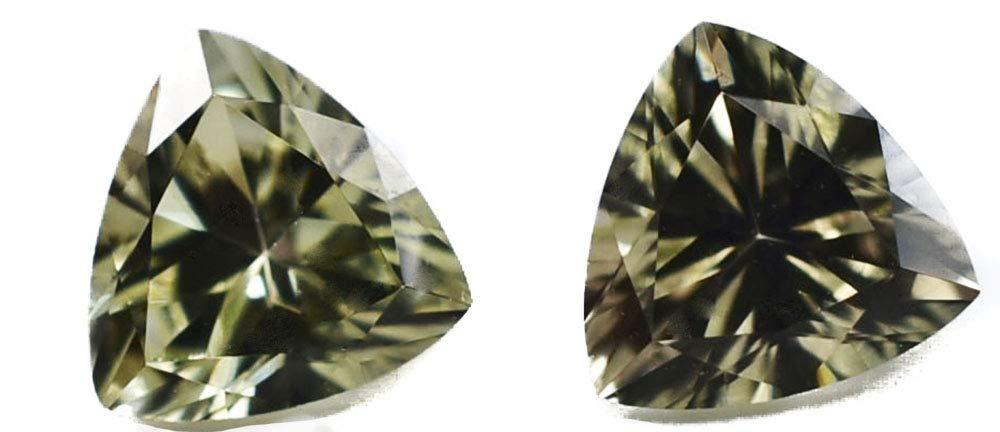Zultanite 0.37 Ct. Natural Loose Gem Gemstone - (1) 4.8mm Brilliant Trilliant Cut w Cert of Auth F010