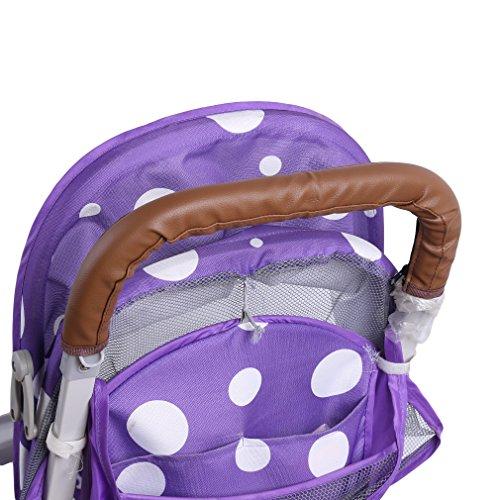 Griffe Atyhao Armlehne Kinderwagen Abdeckung aus PU-Leder Griff f/ür Baby Staubschutz Universal-Deckel Schwarz mit Rei/ßverschluss