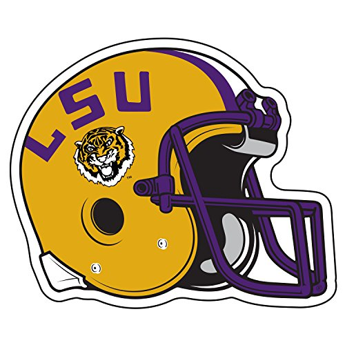(LSU Decal LSU HELMET DECAL 12
