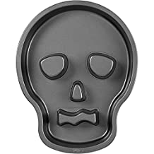 Skull Head Face Baking Pan Tray Halloween Haunted Scary