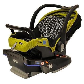 Amazon.com : Combi Shuttle 33 Infant Car Seat - Wasabi Noche : Rear