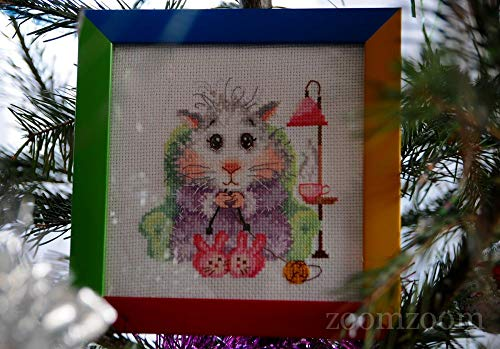 - Unprinted Counted Funny Needlework Cross Stitch Kit (Knit to Order 18-95)