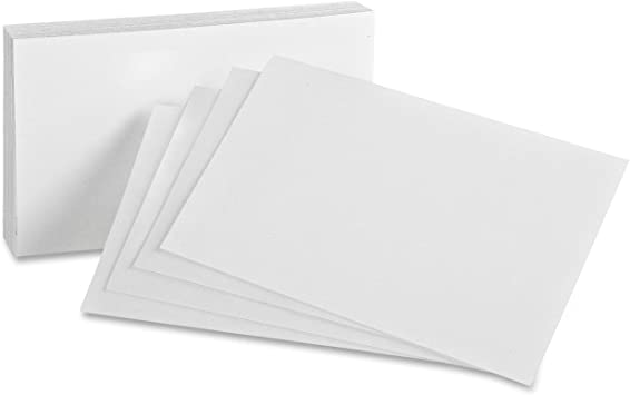 1000 218 GSM Cover Stock Flash Cards Size 3 1//2 x 2 On Heavy Thick 80Lb Blank Business Cards