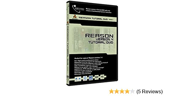 Ask tutorial dvd reason 4(op=op) for sale | bax music.