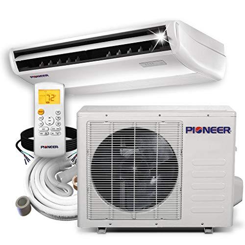 PIONEER Air Conditioner Inverter++ Split Heat Pump, 18,000 BTU, 208-230 V, White