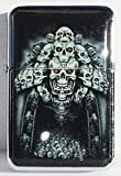 Gate to Hell Windproof Oil Lighter