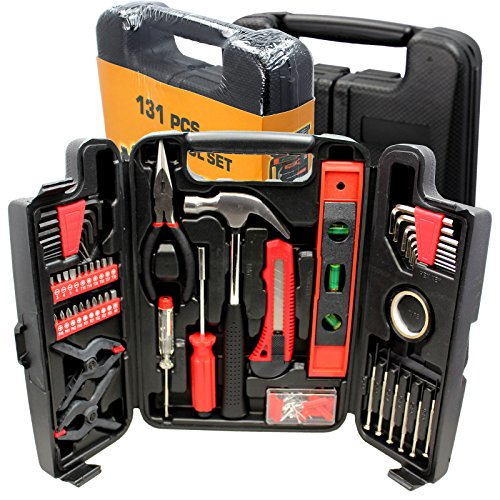18v Metal Shear (BEST Choose New Large Tool Set Household Garage Mechanics 131 pc All Purpose Hand Tools Kit)
