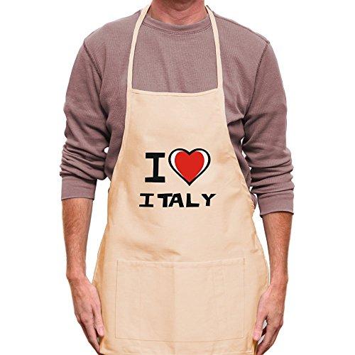 Teeburon I love Italy Apron by Teeburon (Image #2)