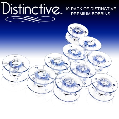 Distinctive 10-Pack of pattern SA-156 Premium Sewing model Bobbins Made to healthy Brother Sewing Machines