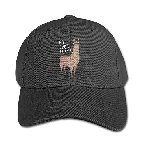 No Prob-Llama Cool Llama With Sunglasses Adjustable Snapback Hip-hop Baseball Hat Cap For Kid Four - Wiki Sunglass