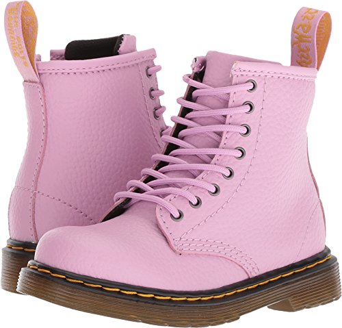 Dr. Martens Brooklee PBl Boots 7.5 M US Toddler Mallow Pink Pebble Lamper Wear Dr Martens