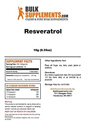 BulkSupplements Pure Resveratrol Powder (10 grams)