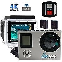Adventurers Camera 2.0 LCD Dual Screen 1080P WiFi HD Action Camera Full 16MP 170º Wide Angel Sports Camera Mini Camera