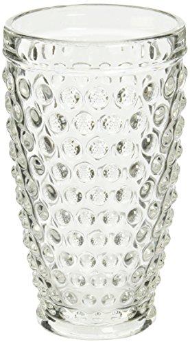 - Abbott Collection Hobnail Glass High Ball