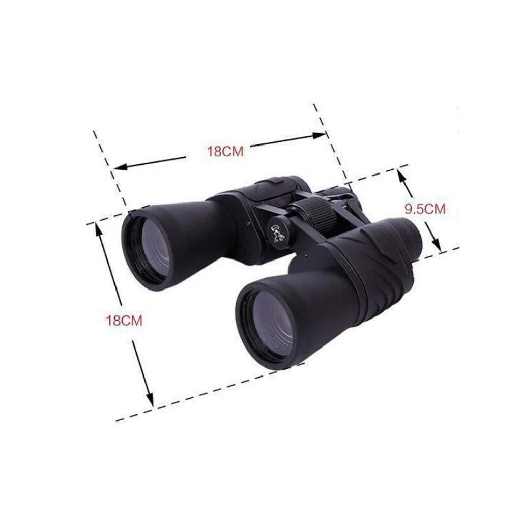 telescopio LCSHAN Binoculares 20x50 HD HD HD de Alta Potencia visión Nocturna Resistente al Agua y antiniebla Espejo de Aves al Aire Libre 46d5d1