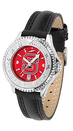 Wolfpack Womens Watch - Linkswalker North Carolina State Wolfpack Ladies' Competitor Anochrome Watch