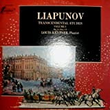 Liapunov: Transcental Etudes Vol. 1 Op. 11, Nos. 1 to 9; Louis Kentner, LP Vinyl TV-S 34469