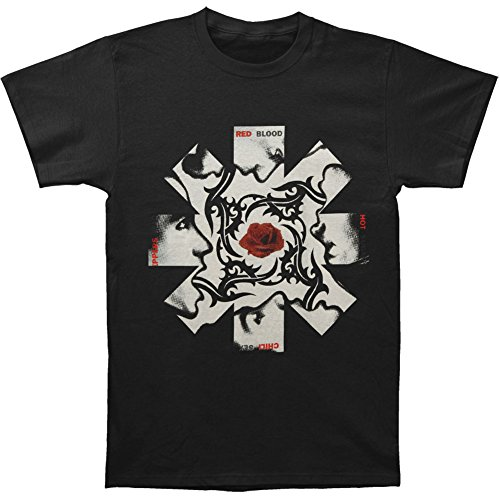 Red Hot Chili Peppers Men's BSSM Asterisk T-shirt Large Black