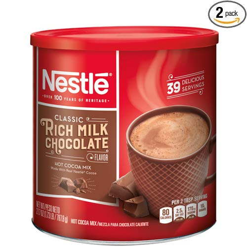 NESTLE Classic Rich Milk Chocolate Hot Cocoa Mix, 27.7 oz. - 2 Pack ()