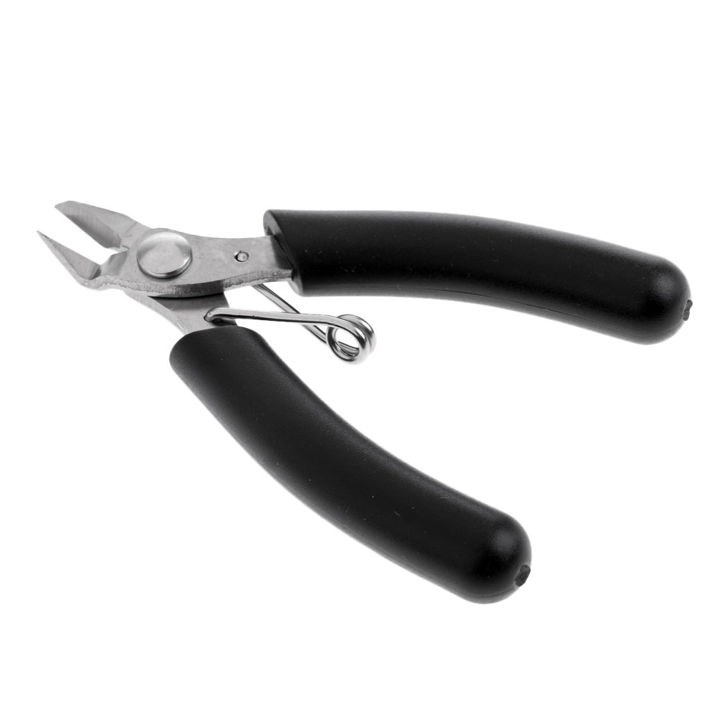 Dolity Professional Cutting Pliers Stringing Tools for Tennis Badminton Rackets Black Mini Diagonal Cutter Tools
