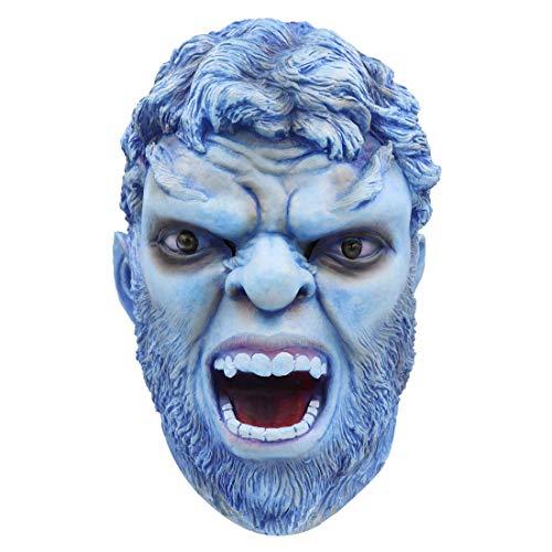 Bulex X-Men Beast Mask New Mutants Costume Latex Full Head Halloween Party Prop for Adult (Beast -