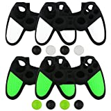 Cheap liveMAX PS4 Controller Skins Protector, Silicone PS4 Controller Case Cover Accessory 4 Packs
