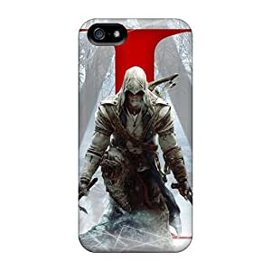Welchmoibe1999 Perfect Tpu Cases For Iphone 5/5s/ Anti-scratch Protector Cases (assassin's Creed Iii)