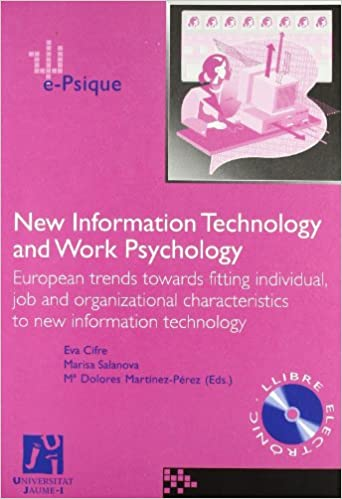 New Information Technology and Work Psychology