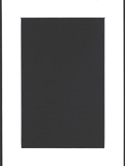 24x36 Slate Grey Picture Mats Mattes Matting with White Core for 20x30 Pictures
