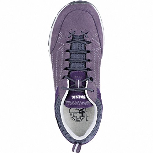 Meindl Durban Lady GTX Damen Leder Trekking Schuhe Bordeaux, Air-Active-Fußbett, 4439120/4.0 violett